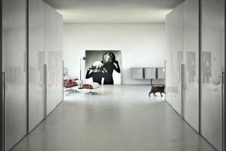 Concrete apartment Beton Interior CGI Idris Kolodziej