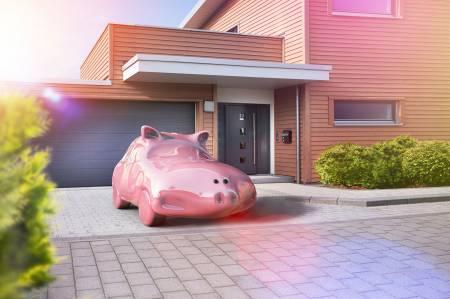 PS-Sparen Sparschweine Schweinchen HDRI CGI Idris Kolodziej